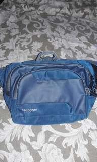 Anti theft belt bag
