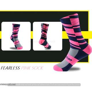 Monton Cycling Socks Fearless Pink (BK1930)
