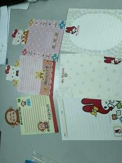 Sanrio 信紙信封