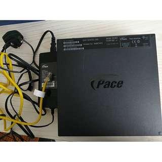 Singtel Pace modem router