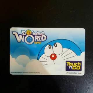 Doraemon touch n go card