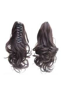 Hair extensions clip
