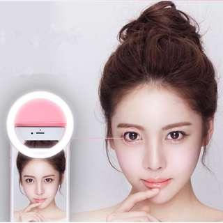 自拍神燈 - Selfie Rechargeable Portable Selfie Ring Light For All Mobile - A0800