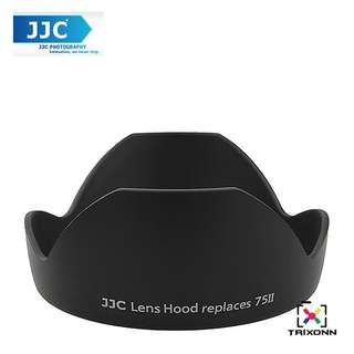 JJC LH-75ii Lens Hood for Canon EF 20mm f/2.8 USM Camera Lens ( EW-75II )