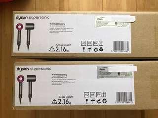 🚚 Dyson HD01 吹風機 全新台灣公司貨保固尾牙到貨大量求售