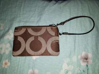 Repriced! Original Coach Coin Purse/Wristlet
