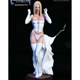 WTB SIDESHOW EMMA FROST WHITE QUEEN COMIQUETTE