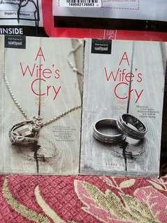 A Wife's Cry 1/2 w/o bookmark