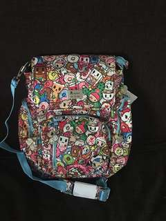 Tokidoki sporty diaper bag