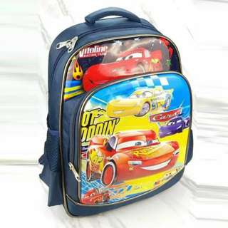 Different Character's School Backpack
