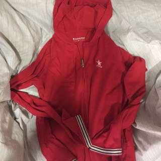 🚚 《可議價》 converse 經典復古紅外套