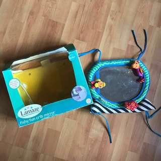 Baby toy - Lamaze crib mirror/toy