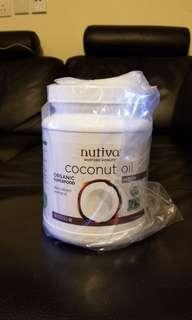 Nutiva coconut oil 有機初榨椰子油