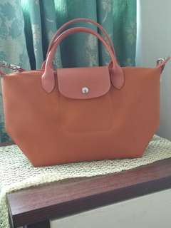 Longchamp Neo Planetes with sling (Short Handle)