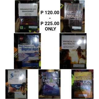 Shs books (40-60% Discount)