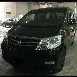 toyota alphard 3.0cc 2 power door good cond  CASH SG