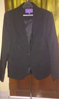 Womens Black blazer / jacket