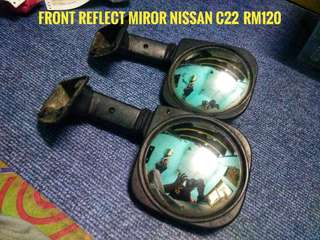 Front reflect mirror nissan c22