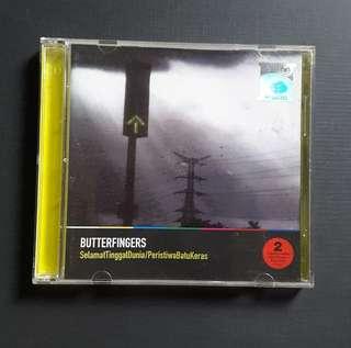 CD Butterfingers - Selamat Tinggal Dunia/Peristiwa Batu Keras (2006) 2CD