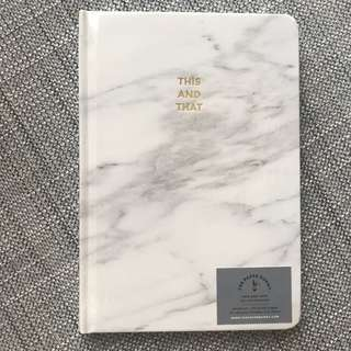 Thepaperbunny Marble Note Book