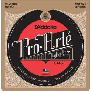 EJ45 classical guitar strings normal tension