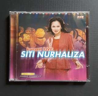 CD Siti Nurhaliza - Konsert Live (2000) 2CD