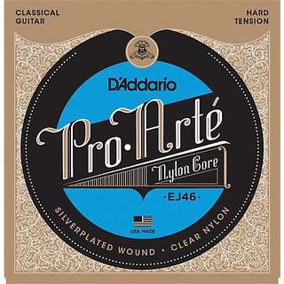 EJ46 classical guitar strings hard tension