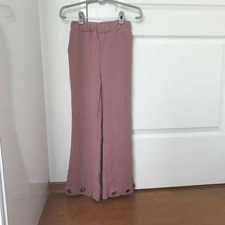Dusty Pink culottes