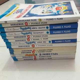 Komik Doraemon 13 pcs