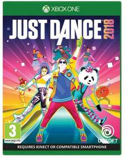 Combo Just Dance 2018,2017 & 2014