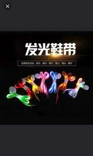 (4對/4pairs) LED發光鞋帶戶外運動攀山夜行單車 (多色可選) (優居推廣系列) (包Buyup自取站取貨) (LED shoes string)