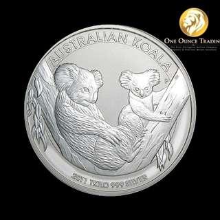 1 kg Silver Koala 2011 (with capsule)