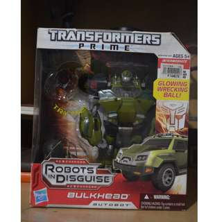 Transformers Bulkhead Action Figure
