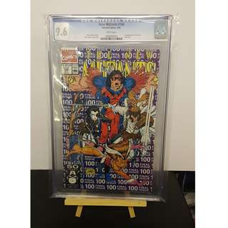 CGC New Mutants #100 9.6 ( 1st appearance of X-Force)