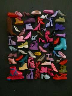 TAKE ALL barbie doll shoes