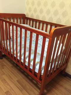 Baby solid wood bed
