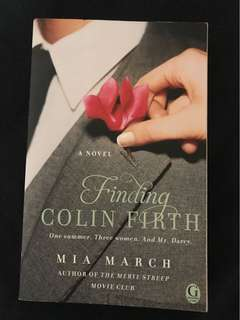 Book-Finding Colin Firth by Mia March