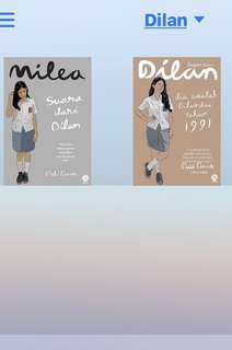 EBOOK NOVEL DILAN 2&3