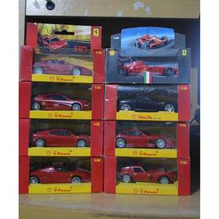 Shell Toy Cars SET