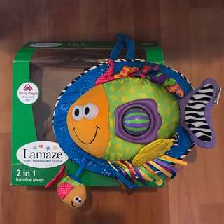 Baby toy: Lamaze 2in1 Traveling Guppy