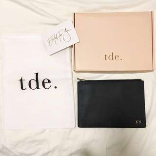 The daily edited tde monogramed pouch
