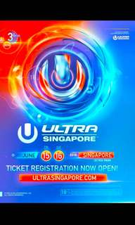 Selling ultra tickets