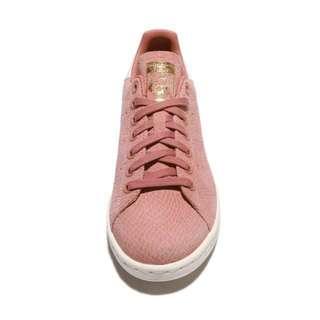 【吉米.tw】ADIDAS ORIGINALS STAN SMITH W 粉色 蛇紋 玫瑰粉 女鞋 CQ2815 MAY
