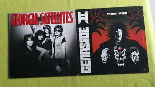 GENASIDE ll ● GEORGIA SATELLITES . narra mine / keep the faith. ( buy 1 get 1 free )  vinyl record
