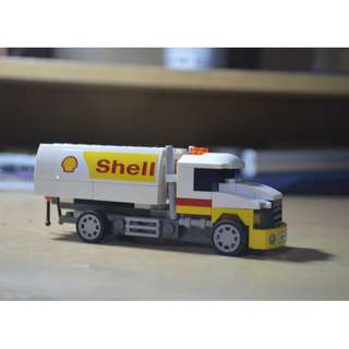 Shell LEGO Toy Truck