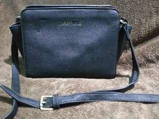 Zara satchel crossbody bag