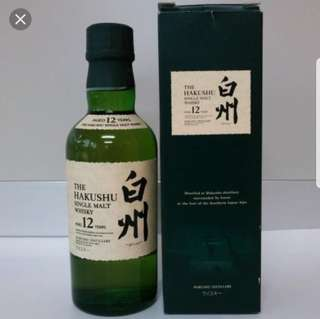 日本威士忌  白州12(180ml)