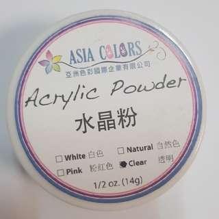 透明膠和水晶粉分開賣*美甲考試可用