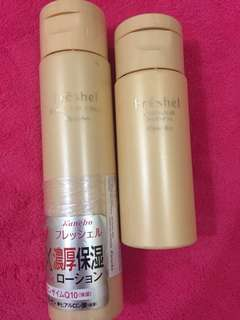 Kanebo Moisture lotion and Emulsion