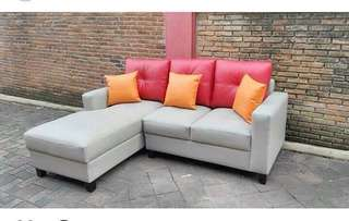Sofa Colorfull Promo Kredit Cepat Dp. 0%